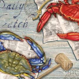 Daily Catch Crabs by Paul Brent
