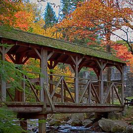 Jeff Folger - Damon Pond  walking bridge