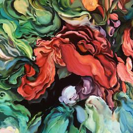 Dancing for Joy - Original Art - Acrylic Paintings - Joyful Floral Art by Brooks Garten Hauschild