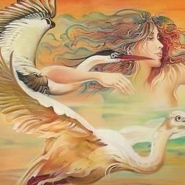 Anna Ewa Miarczynska - Dancing with Birds