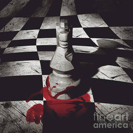 Dark Knight Of The Grand Chessboard by Jorgo Photography - Wall Art Gallery