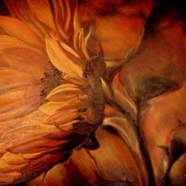 Dark Sunflower by Sorin Apostolescu