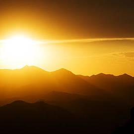 Brad Brizek - Dark Sunset Over the Matzatzals