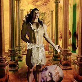Quim Abella - David and Goliath decapitated