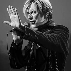 David Bowie in Concert by Meijering Manupix