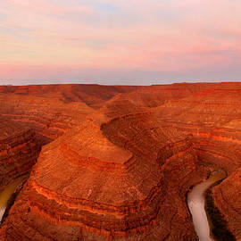 Dawn At Goosenecks Of The San Juan River by Douglas Taylor