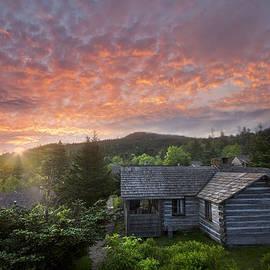 Dawn Over LeConte by Debra and Dave Vanderlaan
