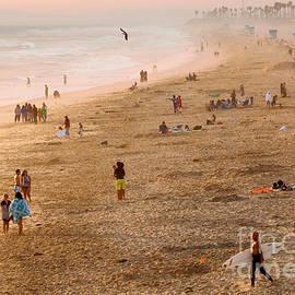 Ram Vasudev - Day at the Beach - Sunset Huntington Beach California