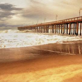 David Millenheft - Day at the Pier Large Canvas Art, Canvas Print, Large Art, Large Wall Decor, Home Decor, Photograph