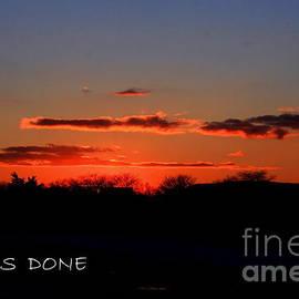 Day Is Done by Marcel  J Goetz  Sr