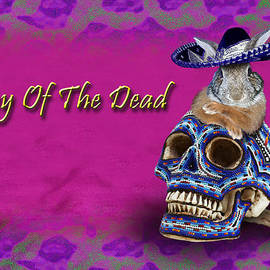 Jeanette K - Day Of The Dead Bunny Rabbit
