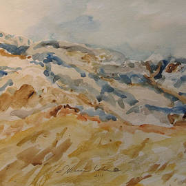 Esther Newman-Cohen - Dead Sea Hills