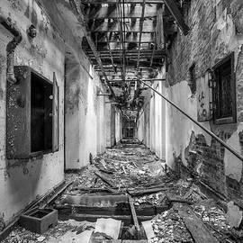 Gary Heller - Deadly Corridor - Abandoned Asylum Building