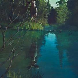 Rob Corsetti - Deer crossing