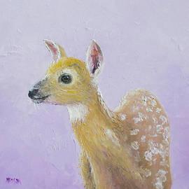 Deer Fawn by Jan Matson