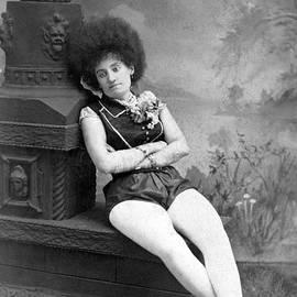 Dejected Vaudeville Performer by Underwood Archives