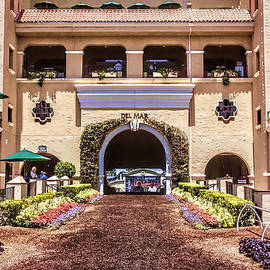 Del Mar Thoroughbred Club by Photographic Art by Russel Ray Photos