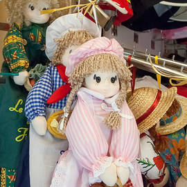 Michael Flood - delightful Dolls In A French Market