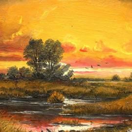 Delta Sunset by Sorin Apostolescu