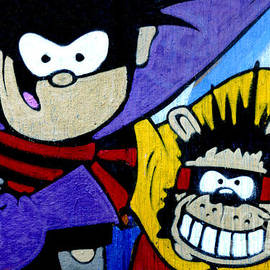 Dennis and Gnasher by Phil Robinson