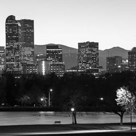Gregory Ballos - Denver Colorado Skyline and Mountains Panorama