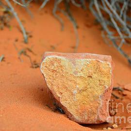 Debra Thompson - Desert Heart Rock