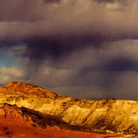 Desert Rainfall Outside Las Vegas by Roger Passman