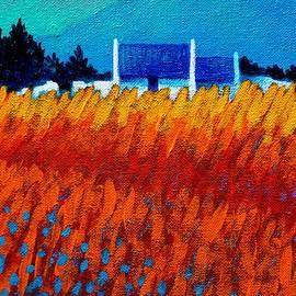 John  Nolan - Detail from Golden Wheat Field