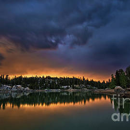 Dianne Phelps - Developing Storm at Lower Sunset Lake