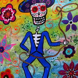 Pristine Cartera Turkus - Dia De Los Muertos Vaquero