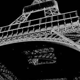 Digital Eiffel by Lisa Parrish