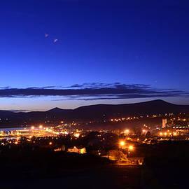 Dingle at Night by Barbara Walsh