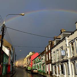 Dingle rainbow by Barbara Walsh