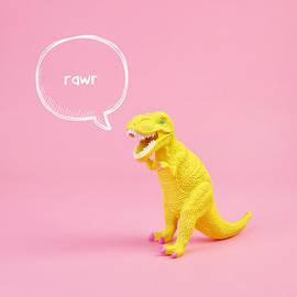 Dinosaur Rawr by Juj Winn