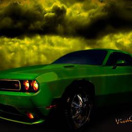 Dodge Challenger Sundowner by Chas Sinklier