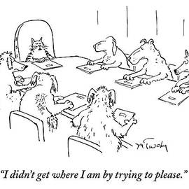 Dogs At A Meeting by Mike Twohy