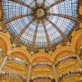 Dome And Balconies Of Galeries by Izzet Keribar