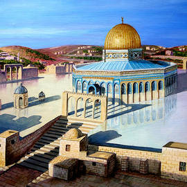Dome of the rock-JERUSALEM by Amani Al Hajeri