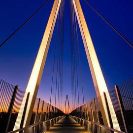 Don Burnett Pedestrian And Bicycle Bridge by Alexis Birkill