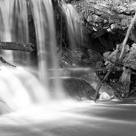 Dont Go Chasing Waterfalls 3 in Black and White by James BO Insogna