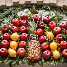Door fruit ornament by William Krumpelman