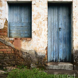 Doors And Windows Minas Gerais State Brazil 4 by Bob Christopher