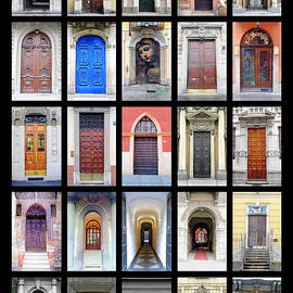 Doors of Italy by Nicholas Romano