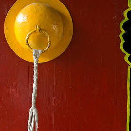 Doorway to a monastery Ladakh India by Neville Bulsara