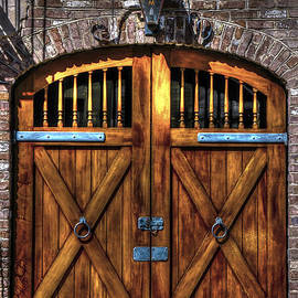 Downtown Charleston SC Doors by Dale Powell