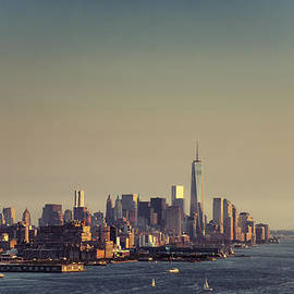 Downtown Manhattan by Zina Zinchik