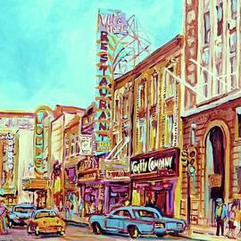 Downtown Montreal by Carole Spandau