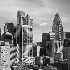 Downtown Philadelphia by Rona Black