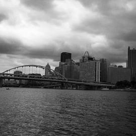 Downtown Pittsburgh by Joyce  Wasser