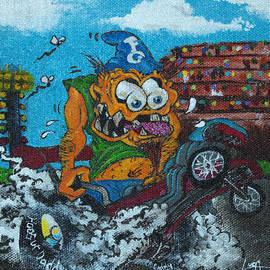 Dragster Fink by Tom Luca